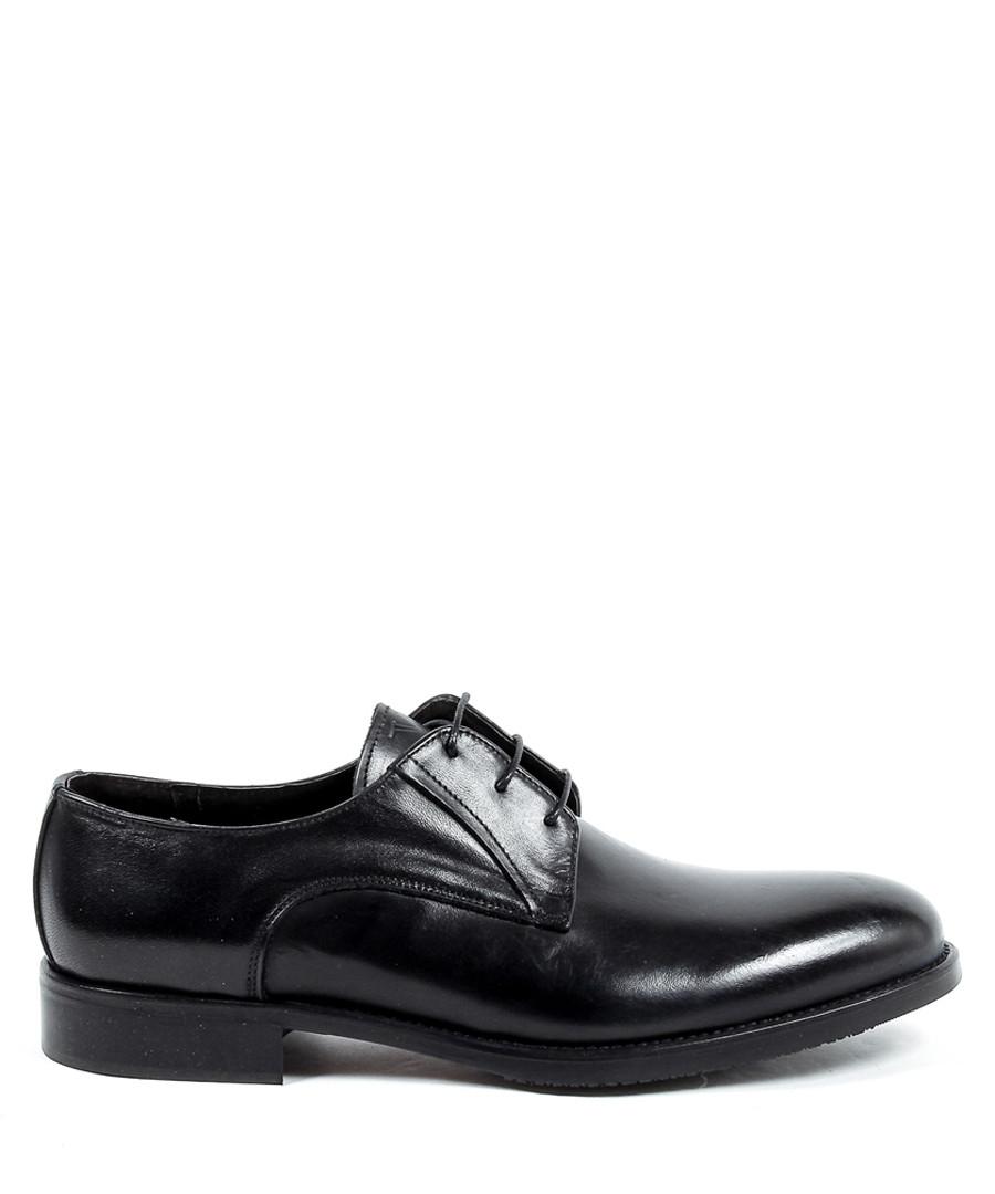 Black leather formal lace-up shoes Sale - v italia by versace 1969 abbigliamento sportivo srl milano italia