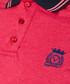 Coral & fuchsia pure cotton polo shirt Sale - VERSACE 1969 ABBIGLIAMENTO SPORTIVO SRL Sale