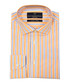 Orange & blue cotton stripe shirt Sale - VERSACE 1969 ABBIGLIAMENTO SPORTIVO SRL Sale