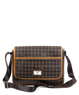 7bbb1afea5 Black   brown checked messenger bag Sale - Versace 1969 abbigliamento  sportivo Sale
