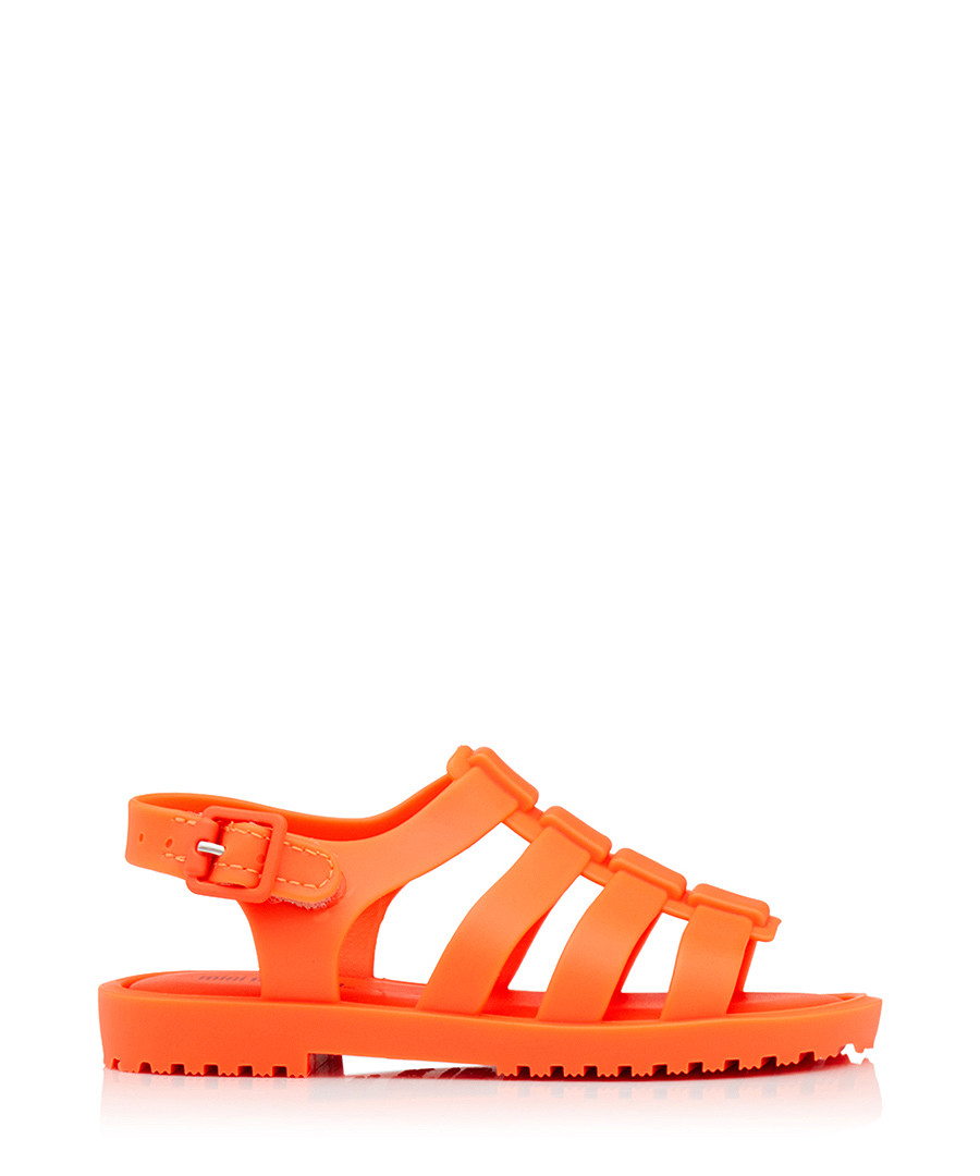 Kids' Mini Flox 17 orange sandals Sale - melissa