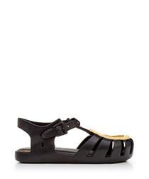 Kids' Mini Aranha 17 black sandals