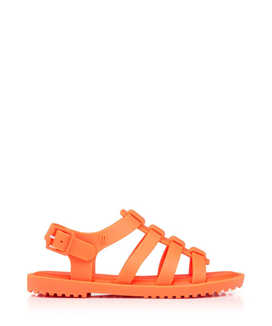 Kid's Flox 17 orange sandals Sale - melissa