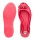 Girl's Queen dark pink flats Sale - melissa Sale