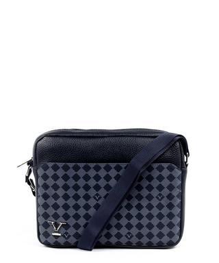 ef3b80d31158 Blue checked satchel bag Sale - VERSACE 1969 ABBIGLIAMENTO SPORTIVO SRL  MILANO ITALIA Sale