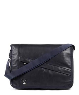 4e17f4af40 Blue   black leather satchel bag Sale - VERSACE 1969 ABBIGLIAMENTO SPORTIVO  SRL MILANO ITALIA Sale