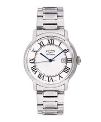 Caviano silver-tone steel watch