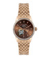 Jura gold-tone & brown link strap watch Sale - Rotary Sale