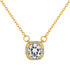 Affinity gold-plated crystal pendant Sale - diamond style Sale