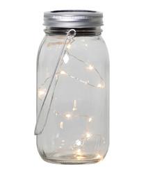 Jamjar solar jar & light lamp