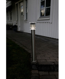 steel pole solar path light 78cm