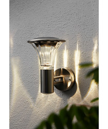 Solar energy wall light & timer