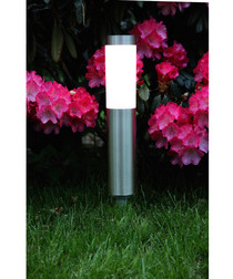 Solar energy grey tube path light