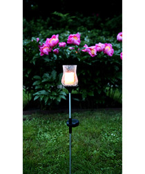Black tulip solar path light 52cm