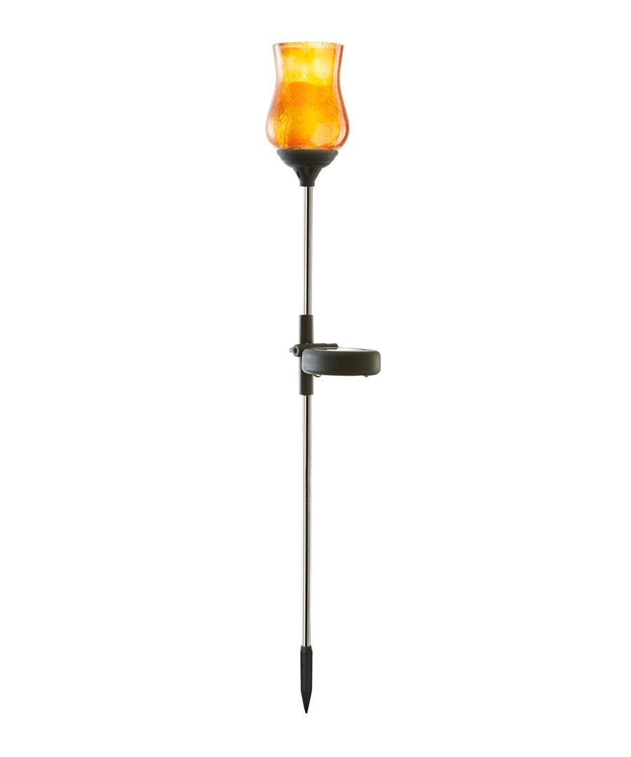 amber tulip Solar path light 52cm Sale - solar lighting