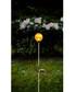 Roma amber glass bauble solar path light Sale - solar lighting Sale