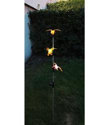 hummingbird solar lamp 90cm