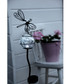 butterfly & glass ball solar lamp 85cm Sale - solar lighting Sale