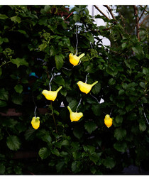 Solar energy yellow bird light chain