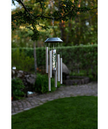 wind chime solar lamp 35cm