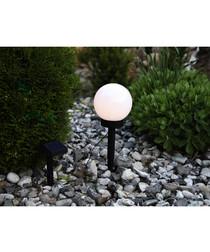 Solar energy round garden globe light