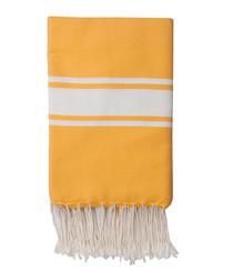 St Tropez sunflower yellow fouta towel