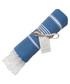 Mykonos blue cotton fouta towel Sale - FEBRONIE Sale
