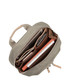Mini Beachamp olive laptop backpack Sale - knomo Sale