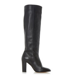 Stockard black leather boots