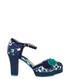 Flo navy & turquoise heels  Sale - ruby shoo Sale