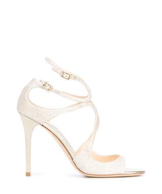 ca719c0eae JIMMY CHOO. Lang gold glitter patent leather heels