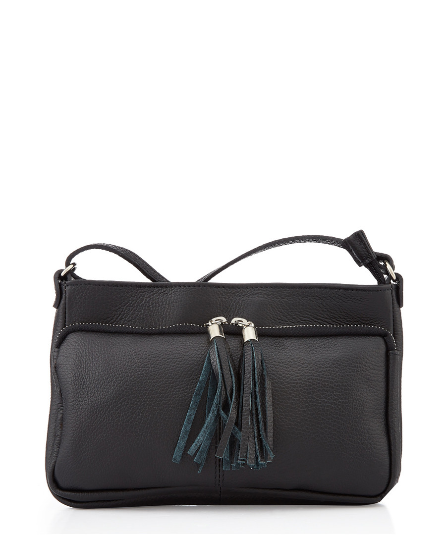 Black tassel shoulder bag Sale - lisa minardi