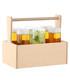 6pc Nomad glass & birch hi-ball set Sale - lsa Sale