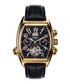 Royale Date black leather watch Sale - andre belfort Sale