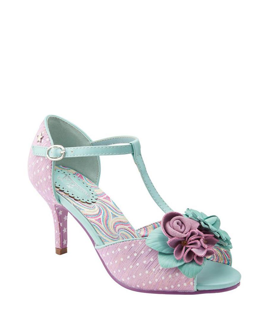 All Things Nice pink & mint T bar heels Sale - joe browns
