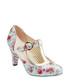 Terrie blue & red floral T bar heels Sale - joe browns Sale