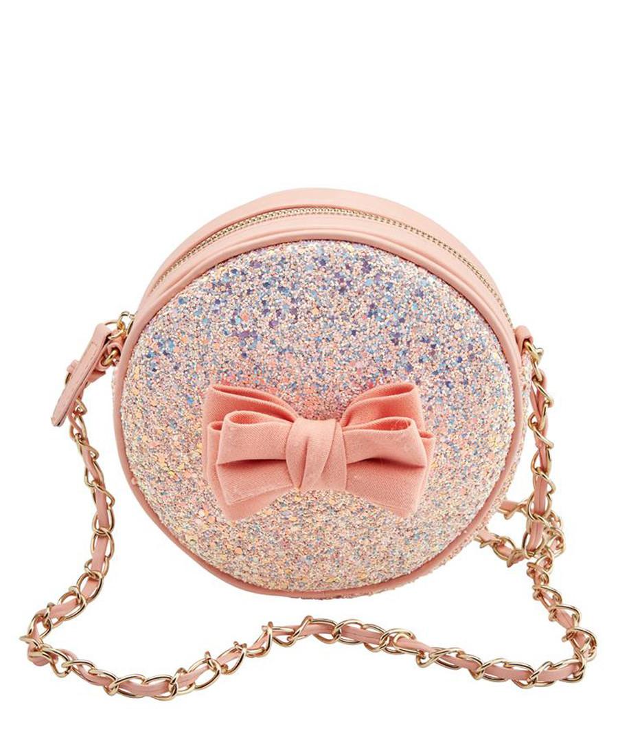 Sugar & Spice peach glitter crossbody Sale - joe browns
