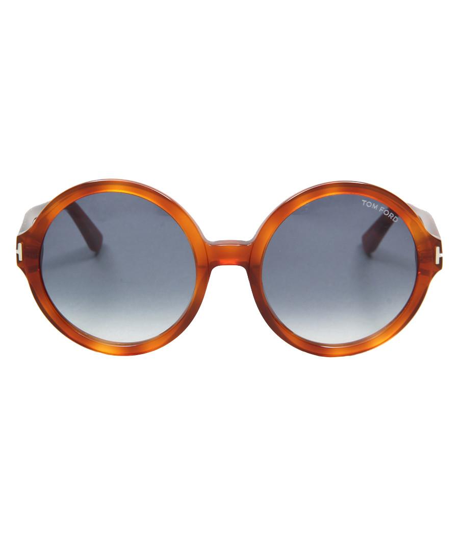 Juliet bright havana & blue sunglasses Sale - tom ford