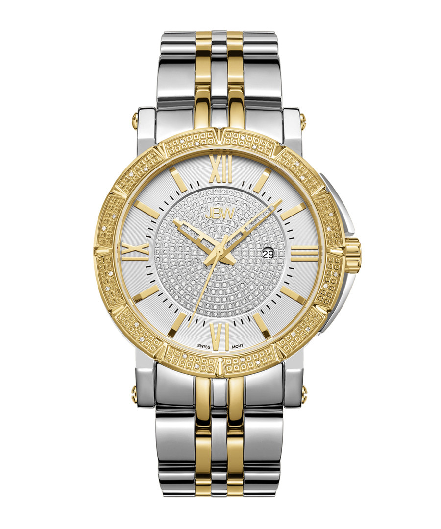 Vault 18k gold plated diamond watch Sale - jbw