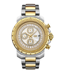 Titus 18k gold-plated watch