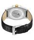 Apollo black diamond & leather watch Sale - jbw Sale
