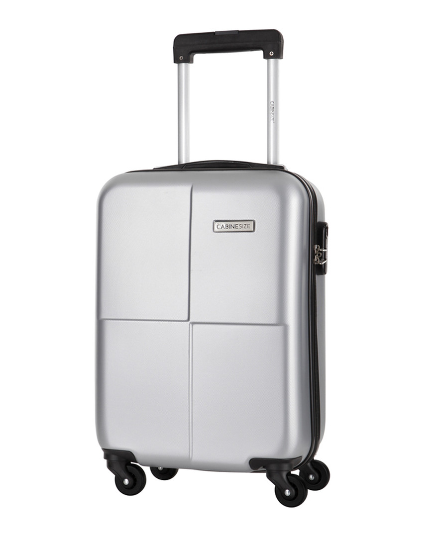 Century silver spinner suitcase 46cm Sale - cabine size