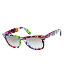 Wayfarer multi-coloured sunglasses