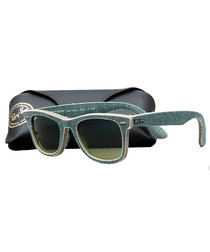 Original Wayfarer green sunglasses