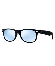 New Wayfarer black & sky sunglasses
