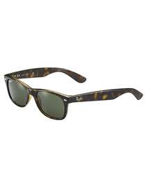 New Wayfarer Havana sunglasses