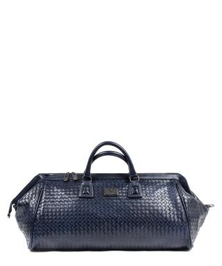 2a27f2bdc7 Navy blue woven large holdall bag Sale - VERSACE 1969 ABBIGLIAMENTO  SPORTIVO SRL MILANO ITALIA Sale