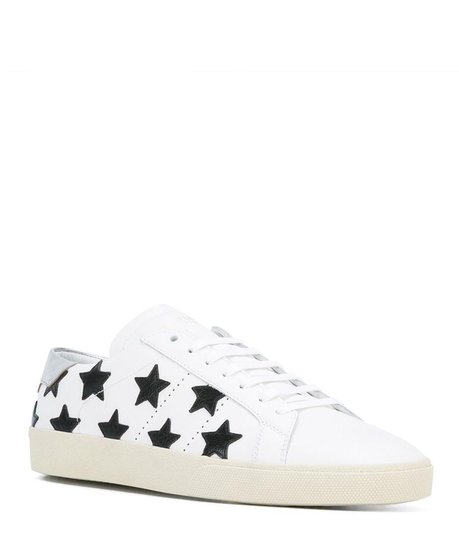Sneakers White Secretsales Leather California Men's Discount I1ZSff
