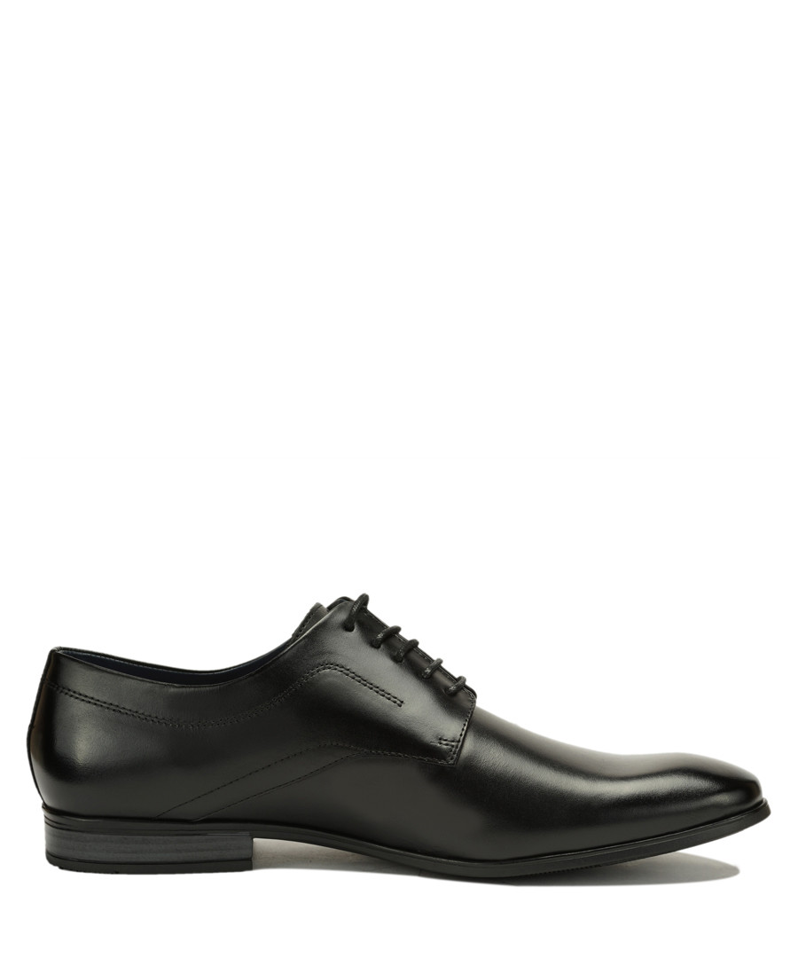 Black leather Derby shoes Sale - Amati Regazzi