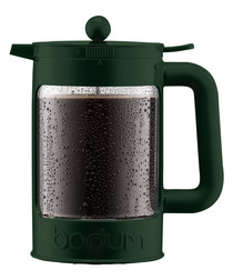 Dark green ice coffee maker 1.5L